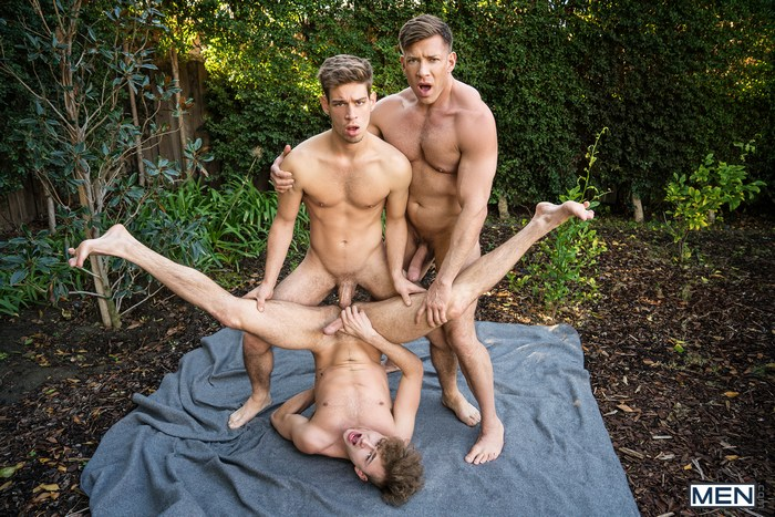 Bruce Beckham Gay Porn Michael DelRay Zander Lane