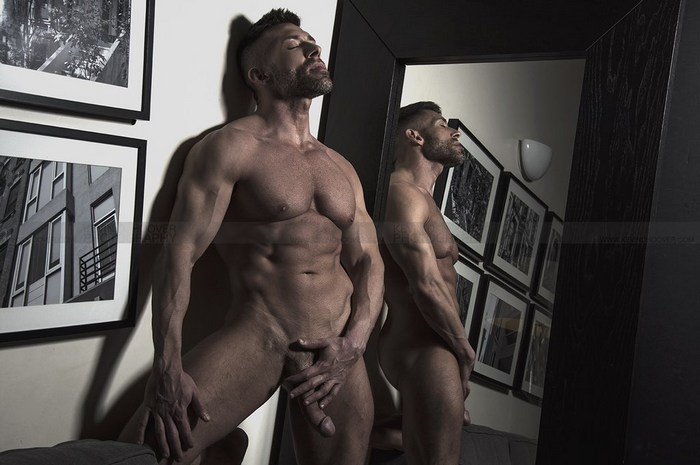 Bruce Beckham Gay Porn Star Naked Big Dick Muscle Hunk