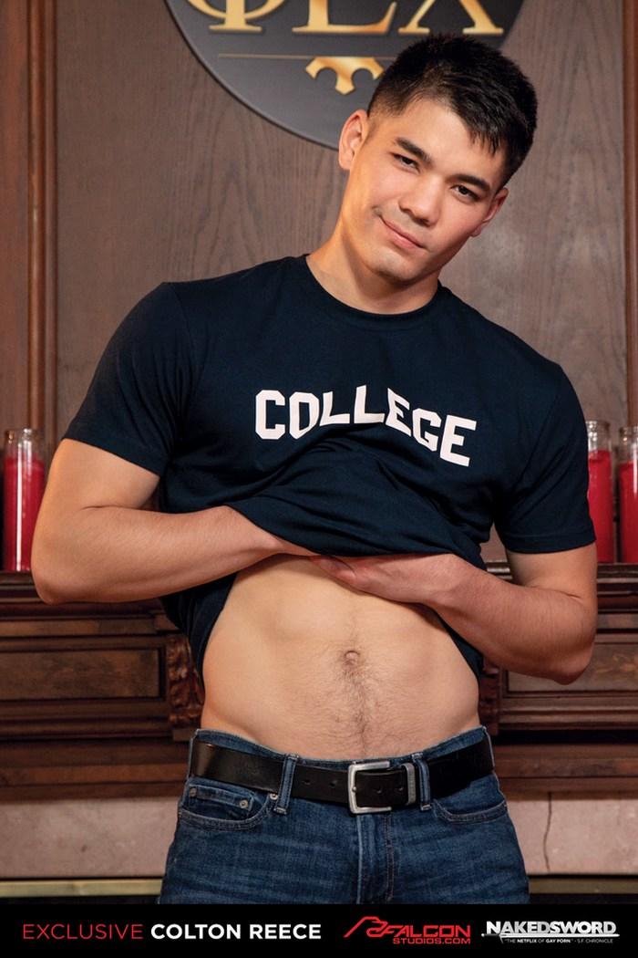Colton Reece Gay Porn Star Músculo Nu Jock Falcon Exclusivo