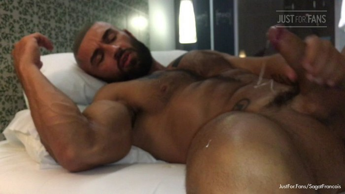 Francois Sagat Gay Porn Cumshot JustForFans