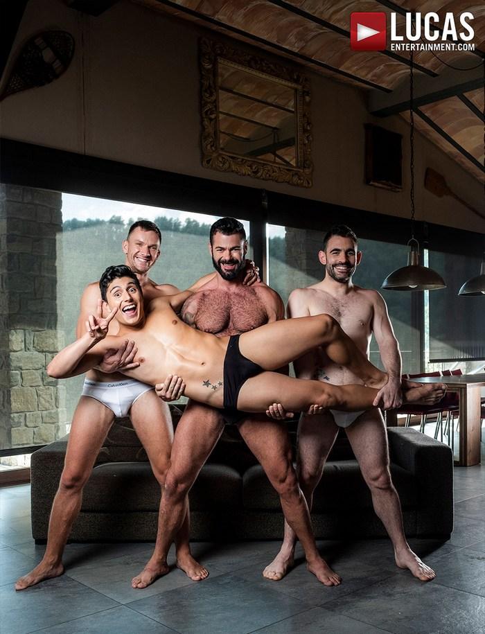 Resultado de imagem para Andrey Vic, Ken Summers, Max Arion & Victor DAngelo porn