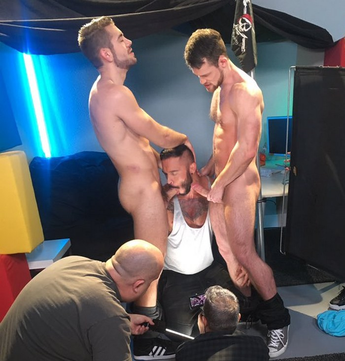 Gay Porn Behind The Scenes Dante Colle Kurtis Wolfe Cris Knight
