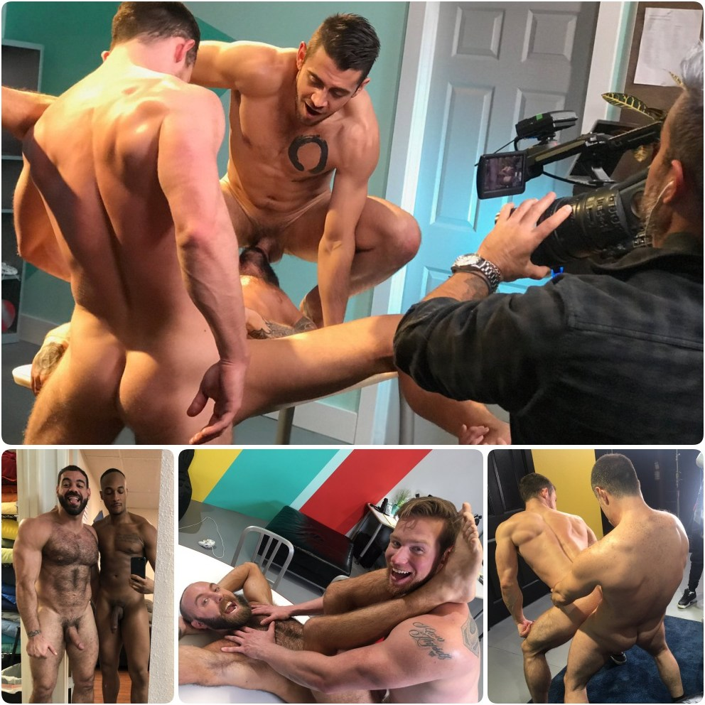 Gay Porn Behind The Scenes Kurtis Wolfe Dante Colle Ricky Larkin Trent King Ryan Stone Teddy Bear Tristan Jaxx