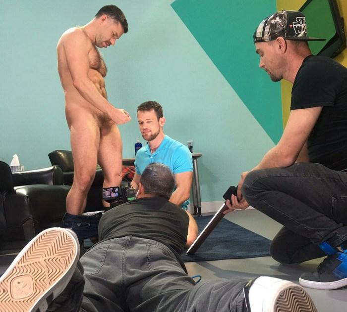 Gay Porn Behind The Scenes Kurtis Wolfe Tristan Jaxx