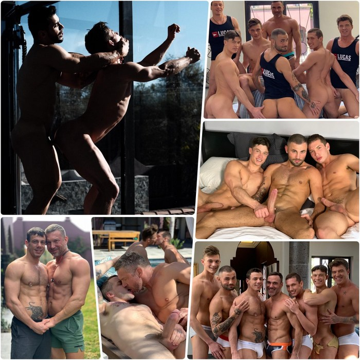 Gay Porn Behind The Scenes Lucas Entertainment Mexico 2019