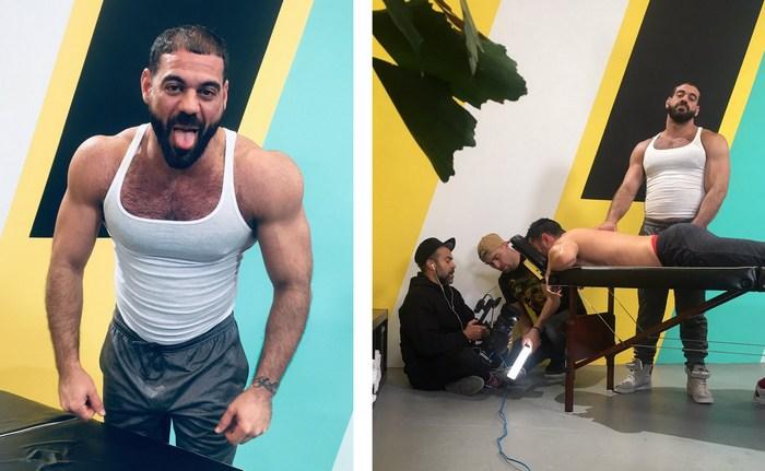 Gay Porn Behind The Scenes Ricky Larkin Trent King Jay Austin