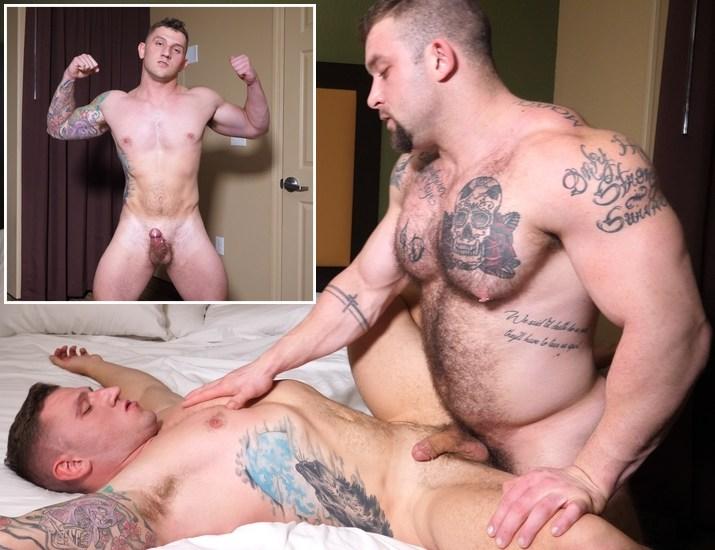 Gay Porn Muscle Hunk TheGuySite Jack Fucks Bryan