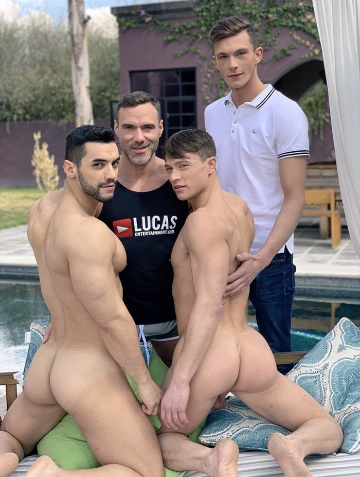 Check out Lucas Knight And Arad at Free Gay XXX