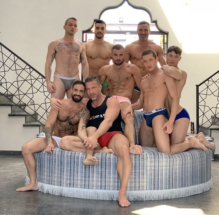 Gay Porn Stars Behind The Scenes LucasEntertainment Mexico