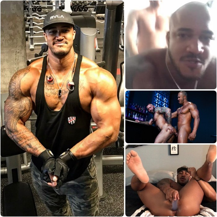 Jason Vario Gay Porn Bodybuilder Bottom Fuck Alexander Kristov Dildo