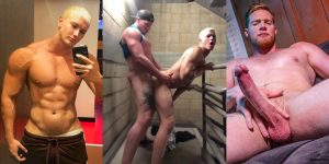 Jay Dymel Ryan Stone Gay Porn Star Selfie Shirtless Muscle Hunk XXX