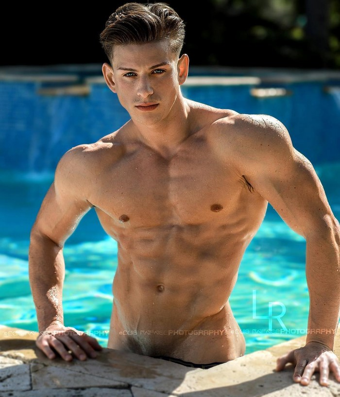 Naked muscle jock hunk nude pity, that