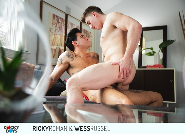 Ricky Roman Gay Porn Wess Russel CockyBoys