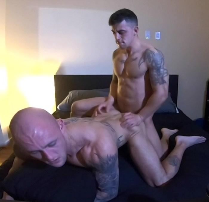 Trevor Laster Gay Porn Josh Gutierrez Muscle Hunk Butt Fucking Sex Tape