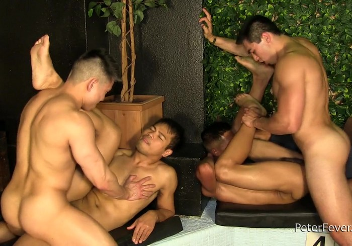 Asian Gay Porn Orgy Axel Kane John Rene Jessie Lee Alec Cruz PeterFever