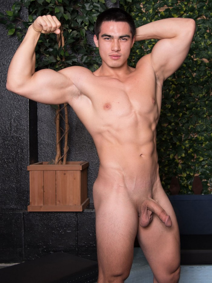 Axel Kane Asian Gay Porn Star Muscle Hunk Naked Big Dick