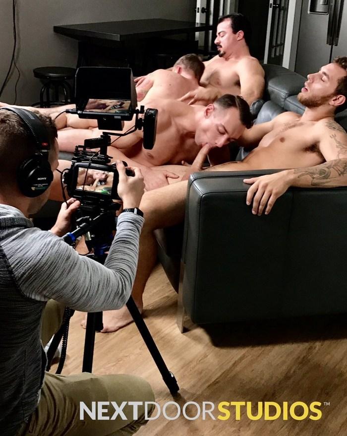 Gay Porn Behind The Scenes Carter Woods Ryan Jordan Johnny B Alex James Orgy