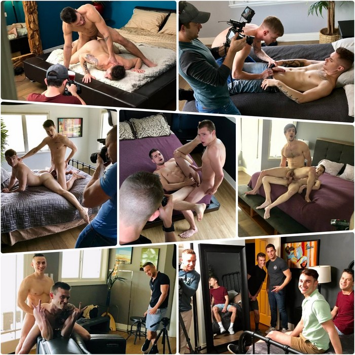 Gay Porn Behind The Scenes Next Door Studios Bareback Fuck