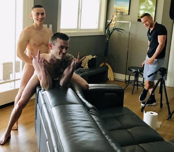 Gay Porn Behind The Scenes Next Door Studios Bareback Fuck