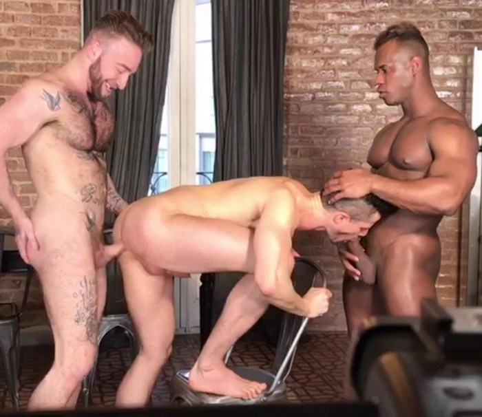 Gay Porn Behind The Scenes Ridder Rivera Kris de Fabio Manuel Scalco Muscle Hunk KristenBjorn