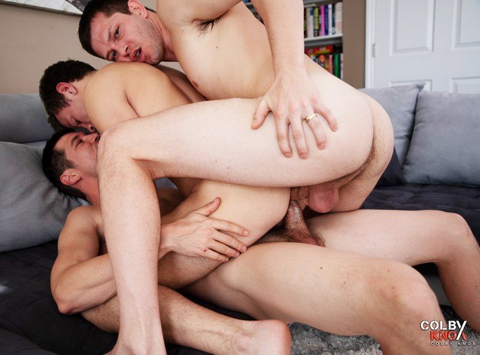 Gay Porn Double Penetration Logan Cross Mickey Knox Colby Chambers