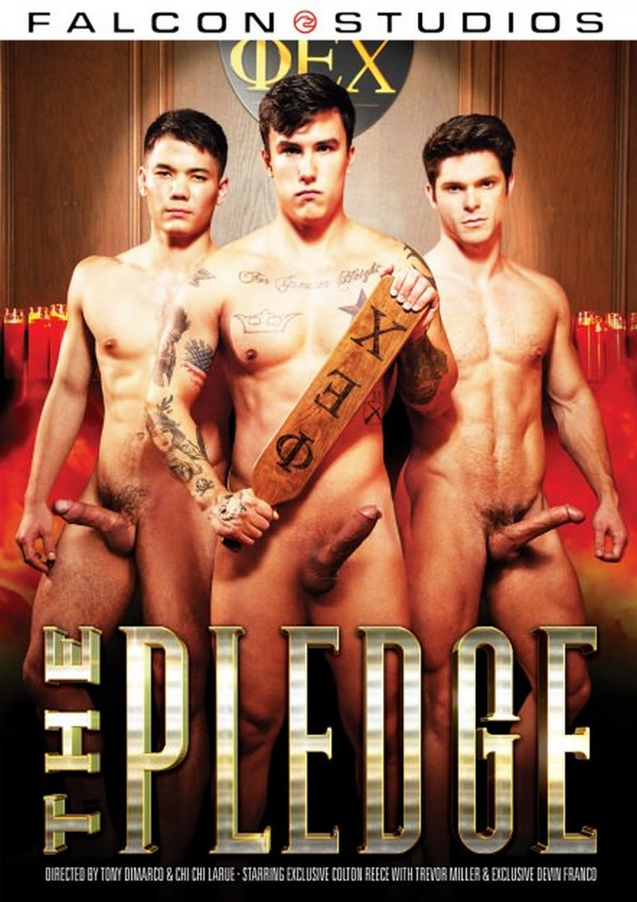 The Pledge Gay Porn XXX Falcon Studios DVD Cover