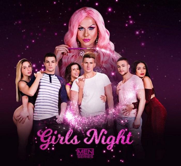Farrah Moan Gay Porn Star Beaux Banks Johnny Rapid Jake Porter Girls Night