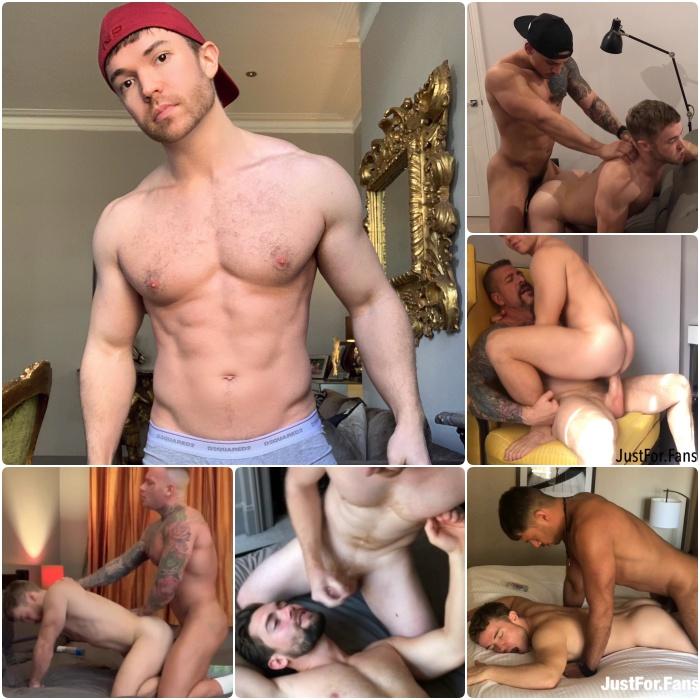 Gabriel Cross Gay Porn Star Bareback Fuck JustForFans