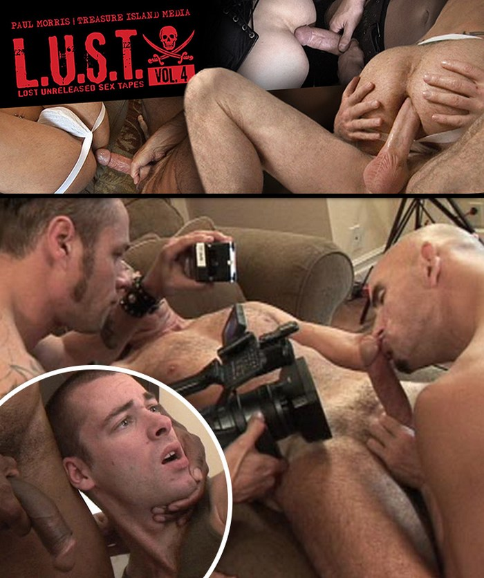 Gay Porn Bareback Sex Treasure Island LUST 4