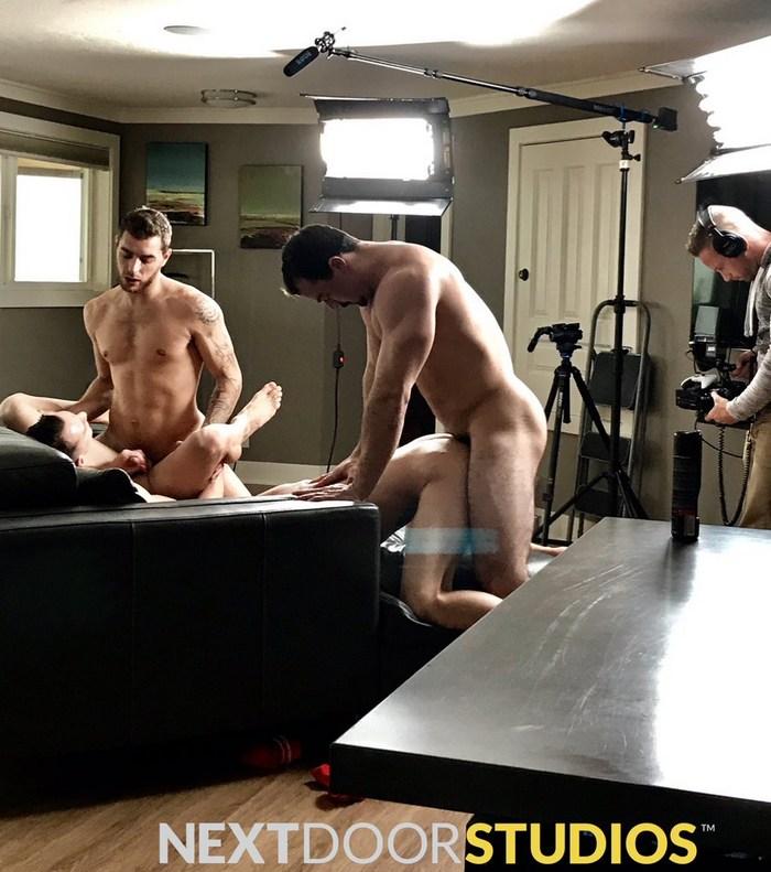 Gay Porn Behind The Scenes Alex James Carter Woods JohnnyB Ryan Jordan