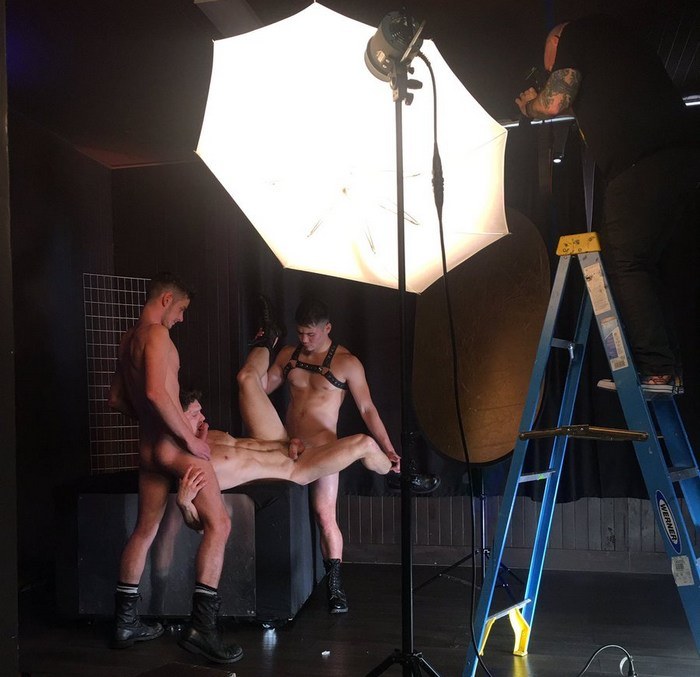 Gay Porn Behind The Scenes Colton Reece Devin Franco Christian Finch