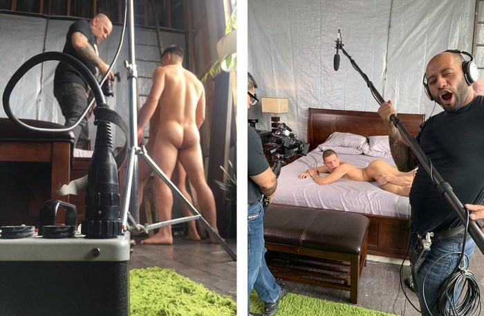 Gay Porn Behind The Scenes Colton Reece Hunter Smith