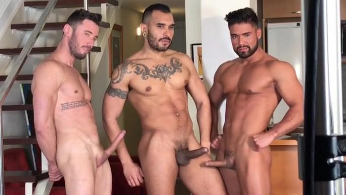 Gay Porn Behind The Scenes Lucio Saints Dann Grey Marcos Oliveira