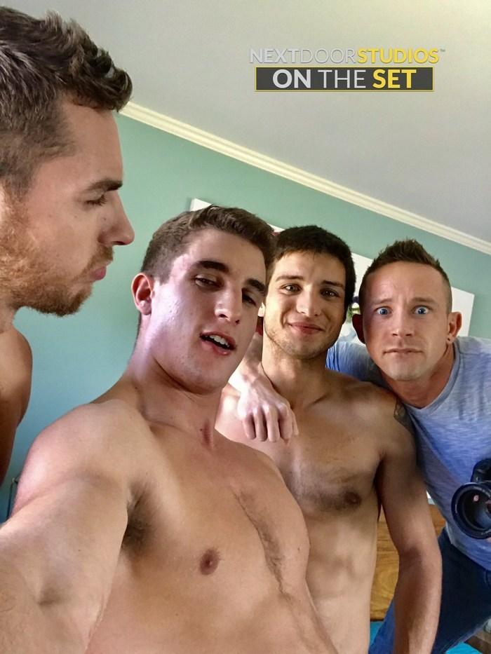 Gay Porn Behind The Scenes Zane Williams Carter Woods Elliot Finn Wesley