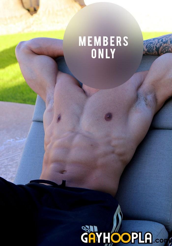 GayHoopla Athletic Muscle Jock Big Dick Naked Members Only