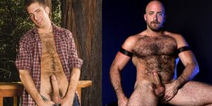 HungerFF RJ Danvers Gay Porn Star Hairy XXX