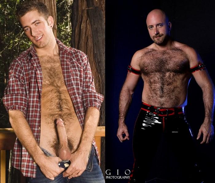 HungerFF RJ Danvers Gay Porn Star Hairy