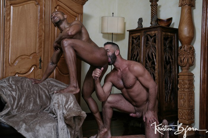 Lex Anders Gay Porn Santi Sexy Muscle Bottom