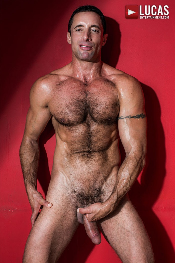 Nick Capra Gay Porn Star Naked Big Dick Muscle Hunk LucasEntertainment