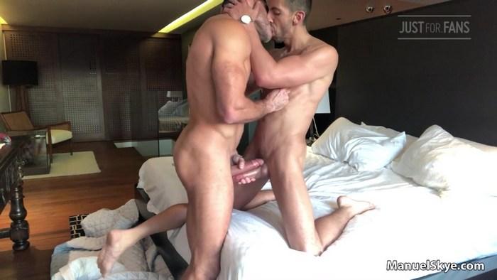 Alessandro Haddad Gay Porn Manuel Skye Muscle Hunk Bareback Sex