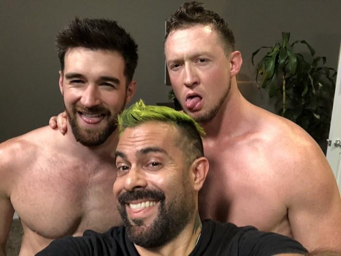 Gay Porn Behind The Scenes Woody Fox Pierce Paris Naked Big Dick Steve Cruz