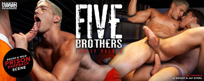 Gay Porn Five Brothers Family Values