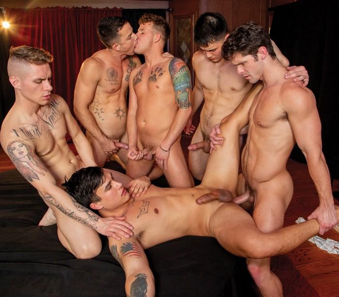 Gay Porn GangBang Devin Franco Trevor Miller Nic Sahara Zak Bishop Colton Reece