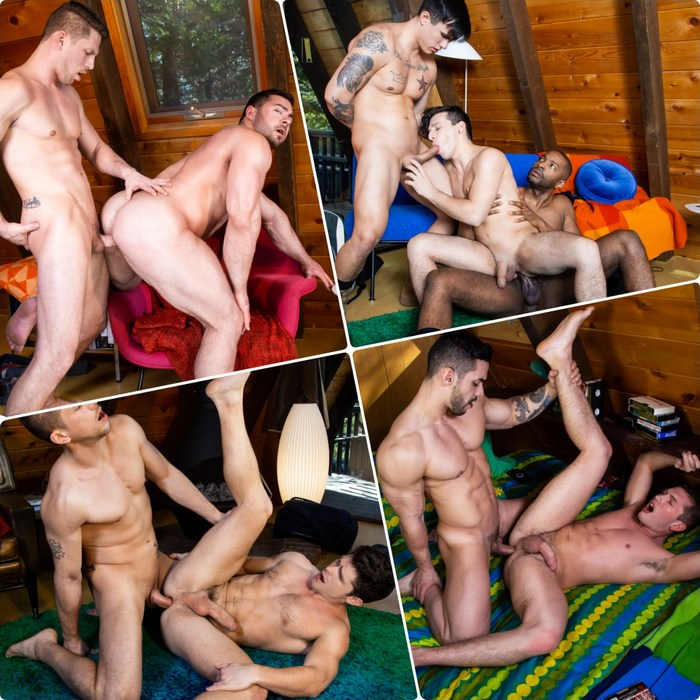 Gay Porn RIMROCK Roman Todd Derek Bolt Devin Franco Arad Winwin Hunter Smith Trevor Miller Collin Lust Lawrence Portland