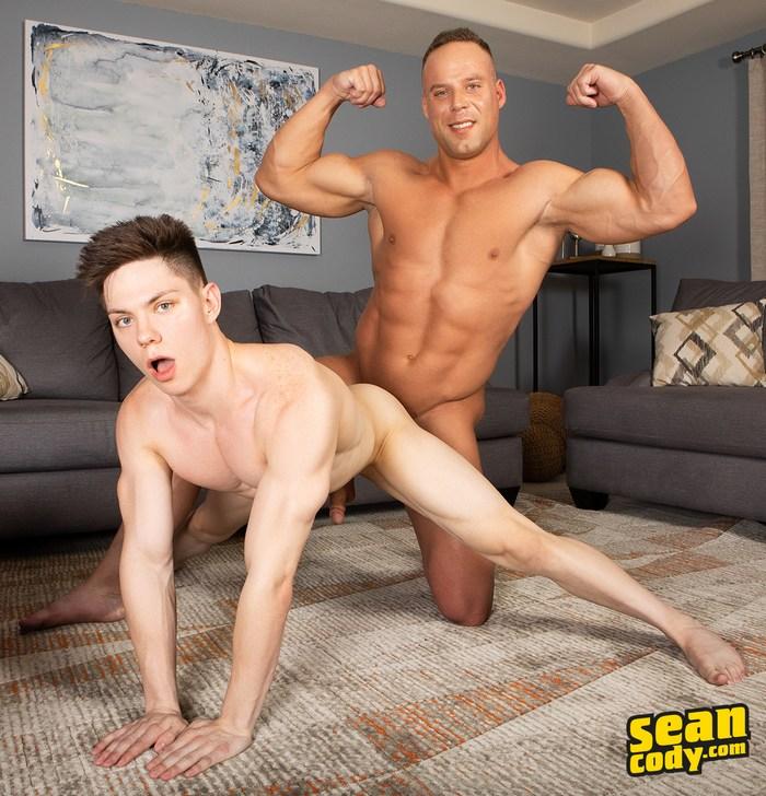 Jack Sean Cody Gay Porn Bodybuilder Fuck Riley Chaux Muscle Flex