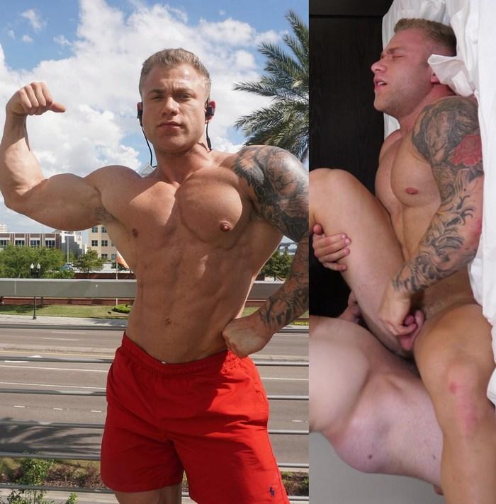Jake Daniel Gay Porn Muscle Bottom TheGuySite Tyler Hanson GayHoopla