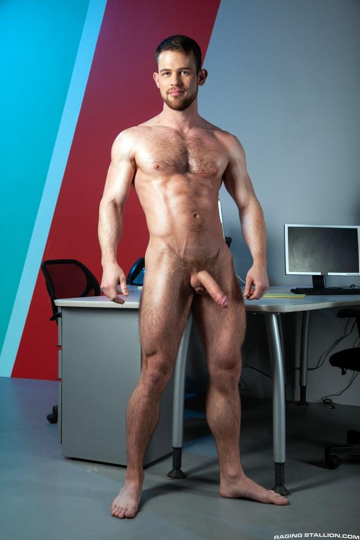 Kurtis Wolfe Gay Porn Star Naked Muscle Hunk Big Dick