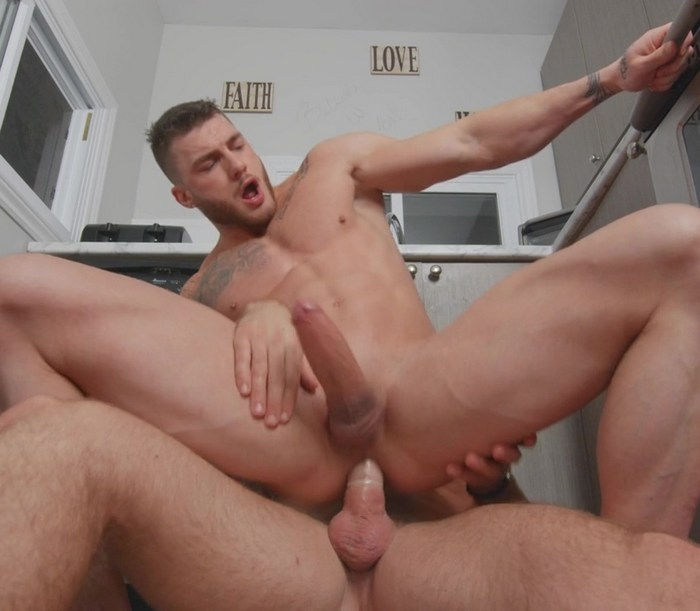 William Seed Bottom Gay Porn Muscle Hunk Riding Big Dick Alex Mecum