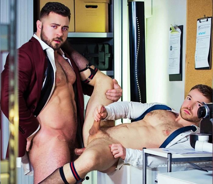 Derek Bolt Gay Porn Gabriel Cross Muscle Hunk