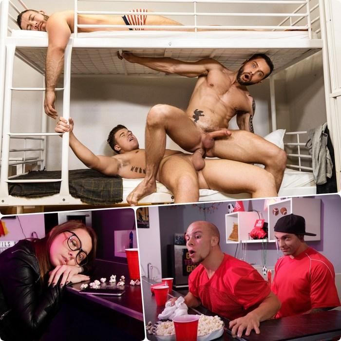 Gay Porn JJ Knight Tyler Berg Eddie Danger Eli Hunter Diego Reyes